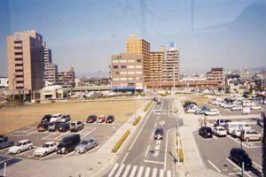 三河安城駅からの景色