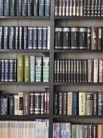 本の所蔵量が多い